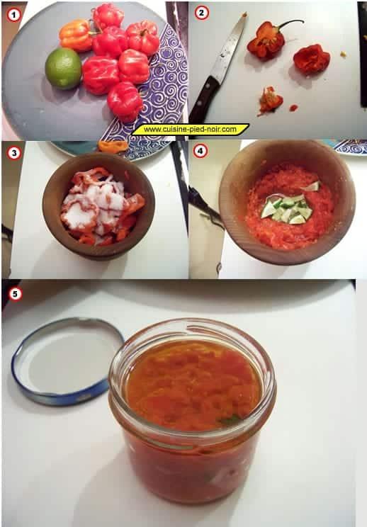 sauce au piment habanero