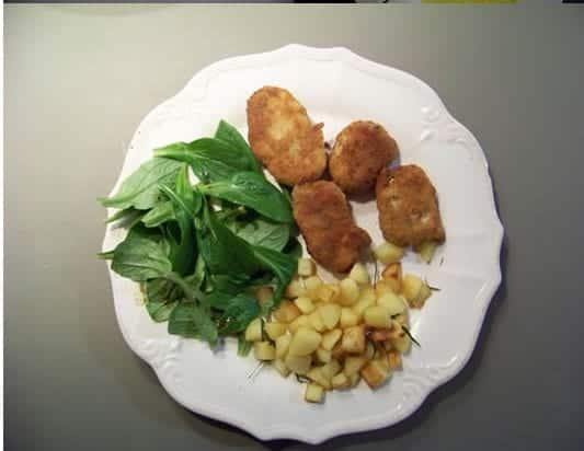 beignets de poisson façon nuggets à la chermoula