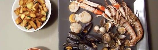 parillada de fruits de mer