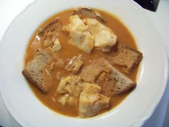 soupe de têtes de poisson
