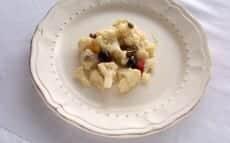 salade de chou-fleur à l'italienne