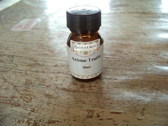 arôme de truffe