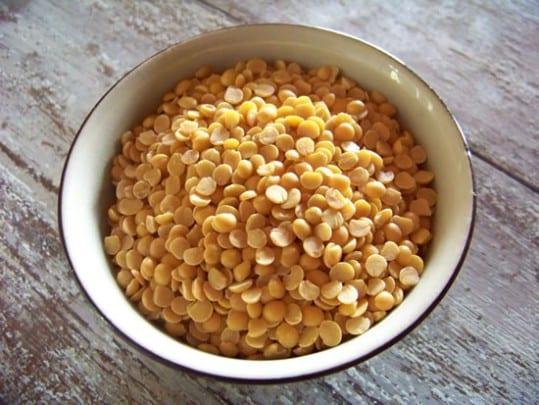 Toor dal, les lentilles les plus couramment utilisées dans la cuisine indienne