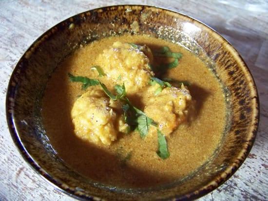boulettes de poisson au curry