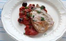 escalopes sauce italienne