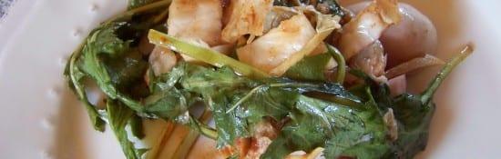 kimchi aux pissenlits