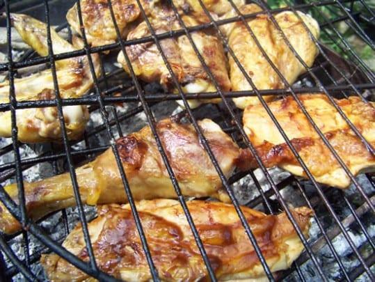 poulet grillé sauce hoisin