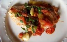 escalopes de dinde sauce aux tomates fraîches