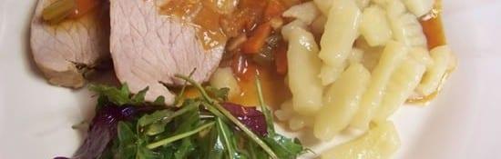 rôti de veau en sauce