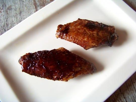 ailerons de poulet sauce teryiaki