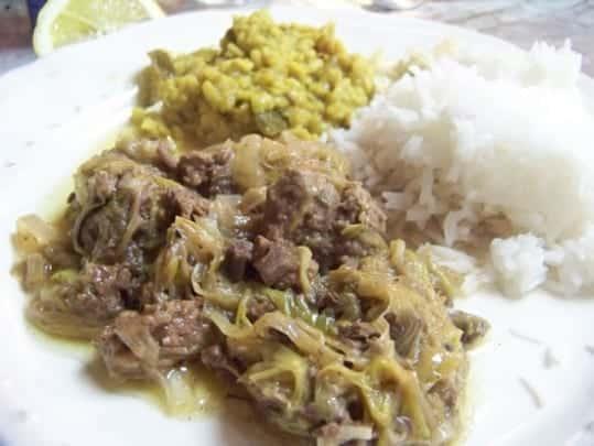 Une recette délicieuse au gout afghan, l'alliance du poireau, de la cannelle et de la cardamome pour le palais français est aussi nouvelle que délicieuse !
