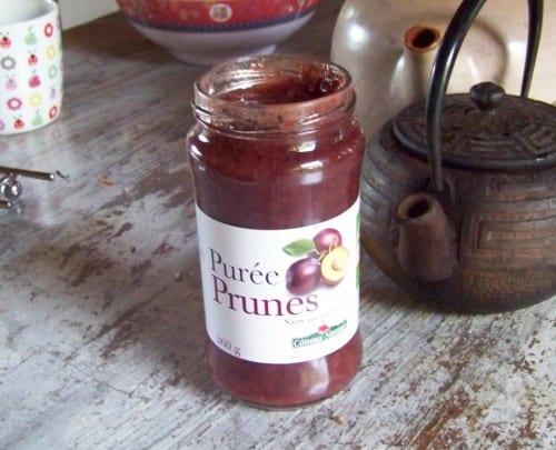 purée de prunes