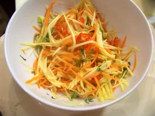 rougail mangue carotte