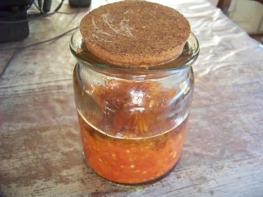 recette de purée de piments