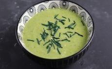 soupe de brocoli au moringa