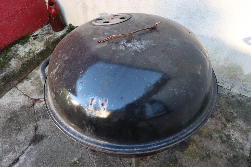 barbecue avec le générateur de fumée