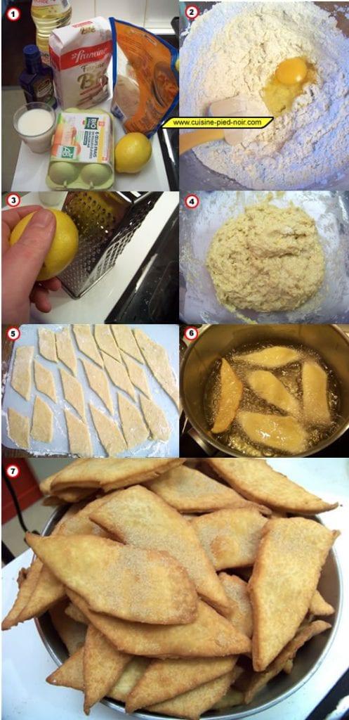 recette des bottereaux en images