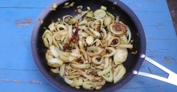 fenouils rôtis au citron confit